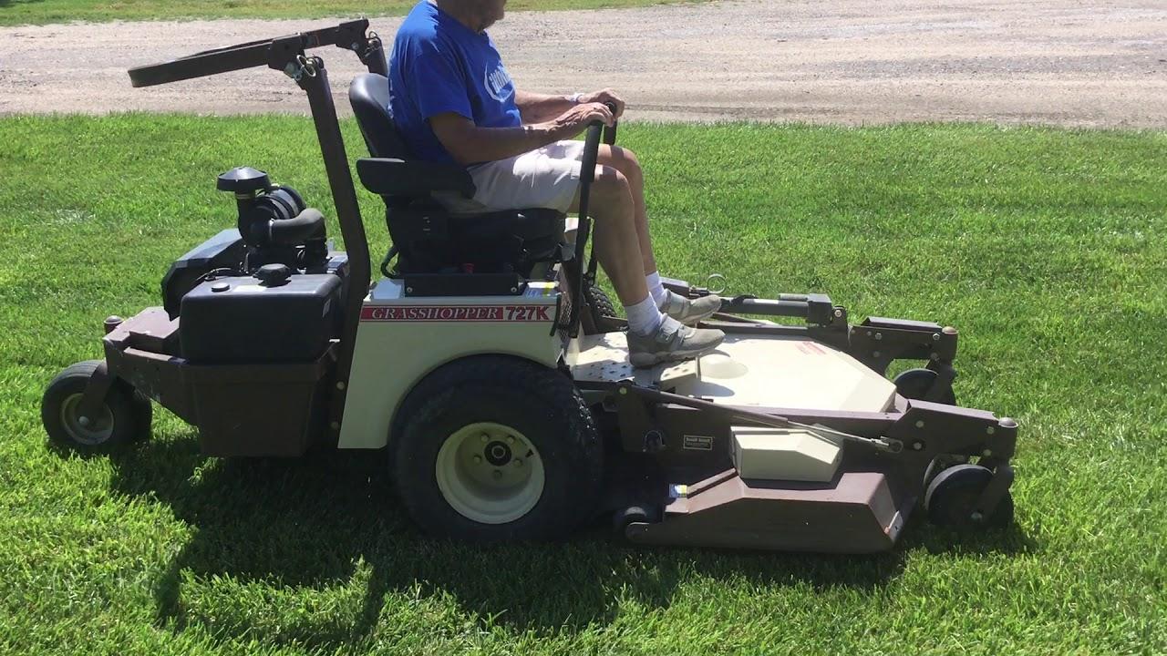 Grasshopper 3552 Zero-Turn Mower BigIron Auctions