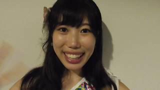 2017年8月27日 片瀬成美 ZEPP TOKYOに向けて意気込みを語ってくれました。
