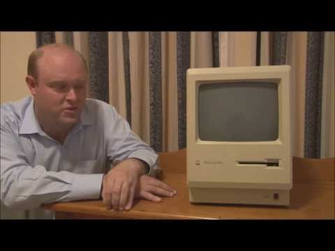 Apple Macintosh Plus (1986) Full Tour, Start Up and Demonstration