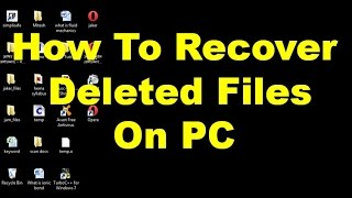 How To Recover Deleted Files On PC [100% Working]