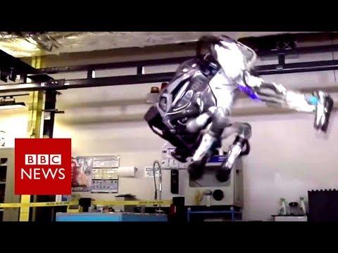 The humanoid robot that can do a backflip - BBC News