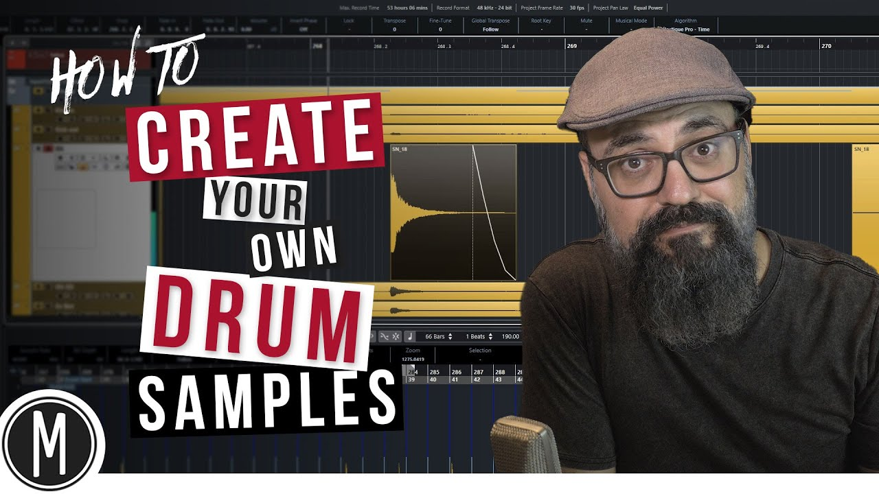 Download How to CREATE your own DRUM SAMPLES