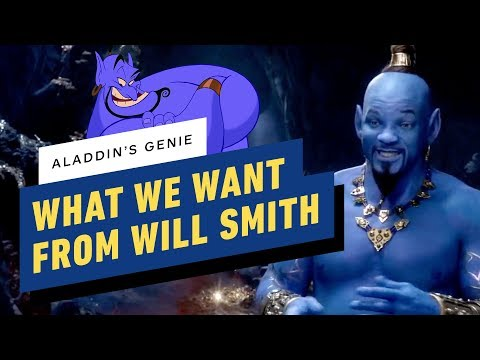 Aladdin: What We Want From Will Smith's Genie