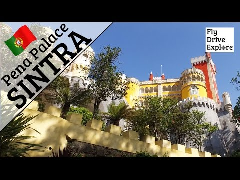 A Tour Of The Pena Palace, Sintra, Portugal