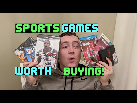 SPORTS GAMES Worth Buying! The Ultimate Sports Game List