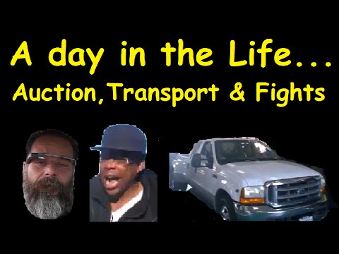 Car Transport Daily Vlog Fight Work Day Facebook Prize ~ Channel Update
