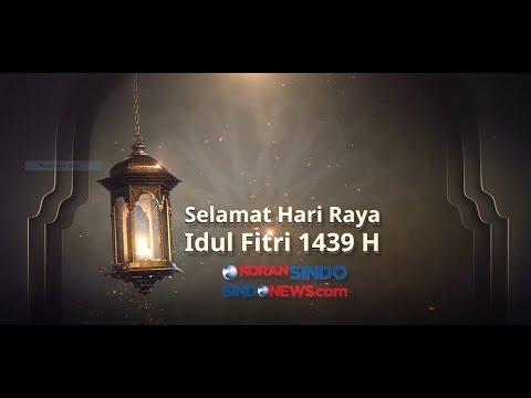 SINDOnews Mengucapkan Selamat Hari Raya Idul Fitri 1439H
