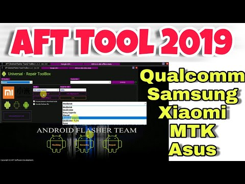All In One Flasher,Imei And Frp Tool | AFT Toolbox