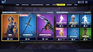 Fortnite Shop 8.4.19 | Hime and Musha Skins! | New reboot bus announced!