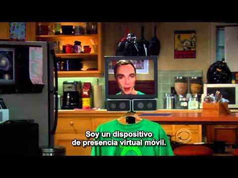 The Big Bang Theory - Sheldon as a Robot