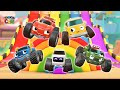 Hi tomoncar! 3Hours 30min Full episode Learn Color nursery rhyme Kids Songs Tomoncar World
