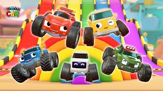 Hi tomoncar! 3Hours 30min Full episode Learn Color nursery rhyme Kids Songs Tomoncar World
