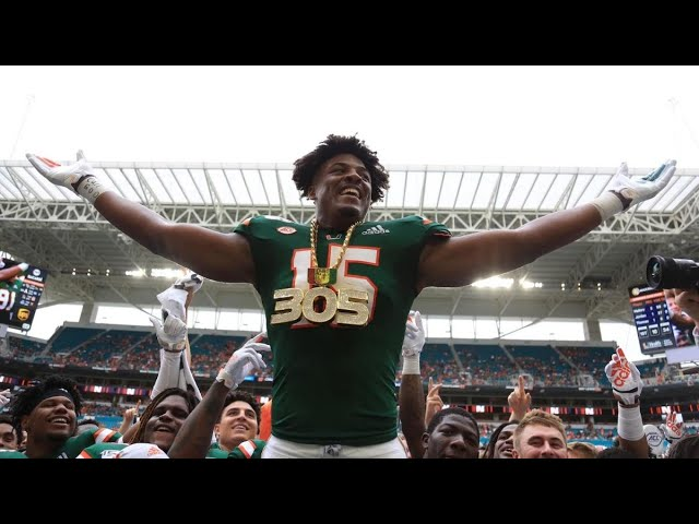 Miami FL DL Gregory Rousseau opts out of 2020 College Football season