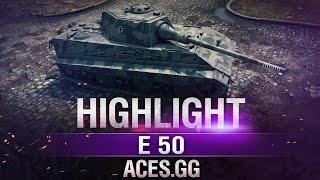 Урон по КД! Е50 в World of Tanks!