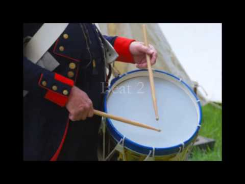 Military Drum Beats x 3 - Part Two