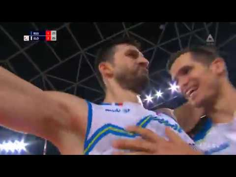 Slovenia Win Over Russia 3 : 1  European Volleyball Championchip! What An ATMOSPHERE!