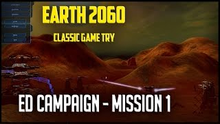 Earth 2160 - Mission 1 - Eurasian Dynasty Campaign.