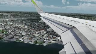 P3D VATSIM MET5405 KBOS-KDCA landing