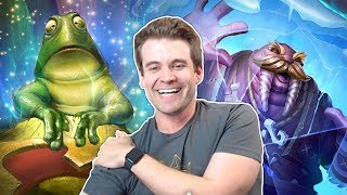 (Hearthstone) Dragon FrogVolve Holds the Line