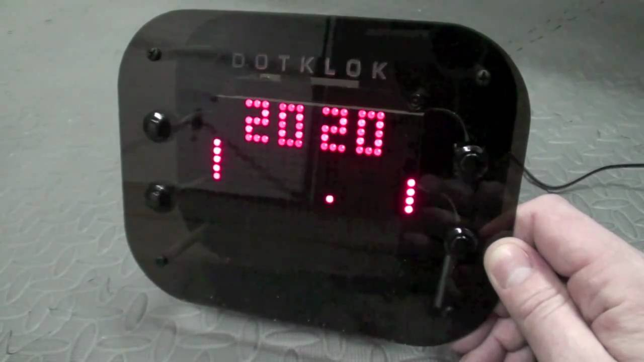 Hands-on with the DOTKLOK - I bought a DOTKLOK - and I thought you might want to see it.