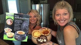 Presto Waffle Bowl Maker Review