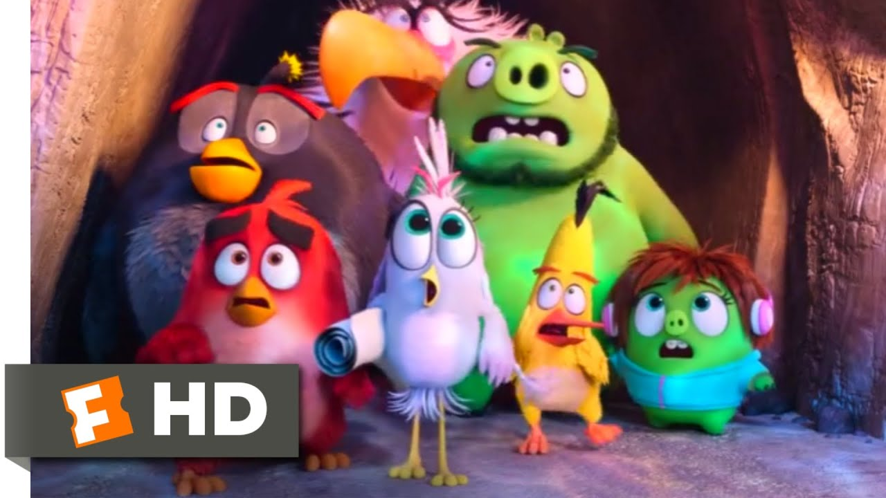 The Angry Birds Movie 2 2019 Ice Ball Attack Scene 3 10