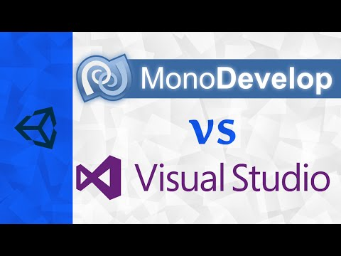 [Unity] Monodevelop vs Visual Studio On Windows | Plus Visua