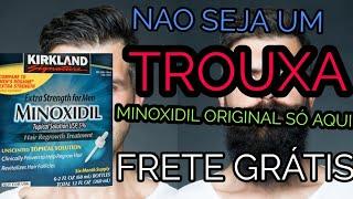 minoxidil kirkland 140 reais melhor preço da internet BIOVEA