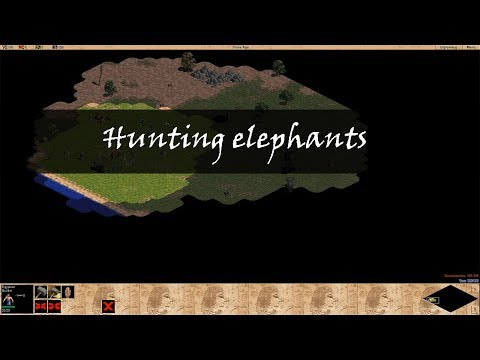 Age of Empires Tutorial – hunting Elephants