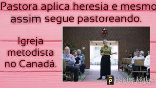 PASTORA DECLARA QUE BÍBLIA É MITOLÓGICA E QUE JESUS NÃO É FILHO DE DEUS,MESMO SEGUE NO CARGO#OPINIÃ0