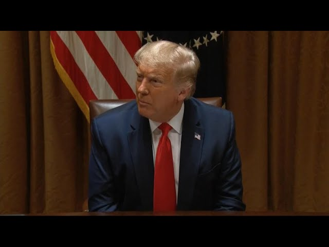Trump Says Democrats Just Want Bailout Money