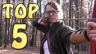 Top 5 Survival W.E.A.P.O.N.S