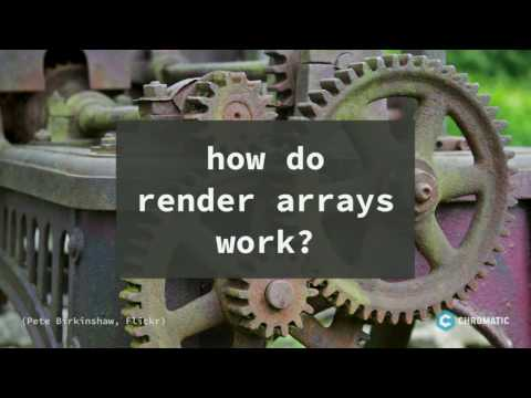 Aha! Understanding and Using Render Arrays in Drupal 8