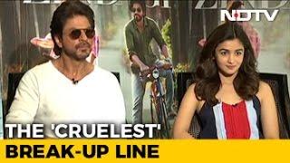 Shah Rukh And Alia Bhatt Say This Is The 'Cruelest' Break-Up Line