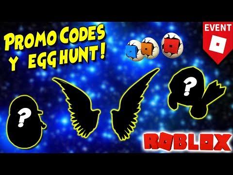 Promo Codes Codigos De Roblox 2020 Y Egg Hunt Con Betroner Youtube