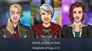 Criminal Case: Travel in Time Case #1 - Death as Old as Time   Kingdoms of Clay (1/5)