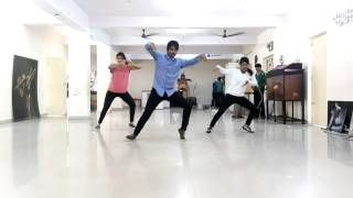 Baatein Kuch Ankahee Si - Arun Vibrato Choreography