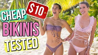 TESTING BIKINI'S UNDER $10! Cheap ALIEXPRESS Swimwear (Try-On)