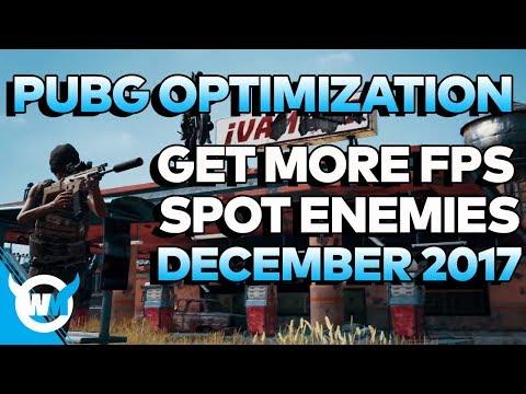 PUBG 1.0 Optimization Guide: How to Increase FPS, See MORE Enemies (Dec 17) - Battlegrounds Settings