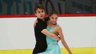 Светлана Лизунова - Александр Вахнов. Ритм-танец. Танцы. Croatia Cup. Гран-при по фигурному катанию