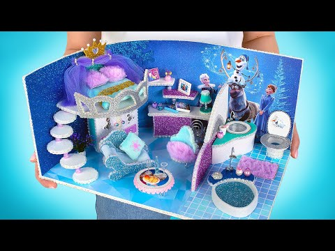 Building A Miniature House For Queen Elsa With Fantastic Design