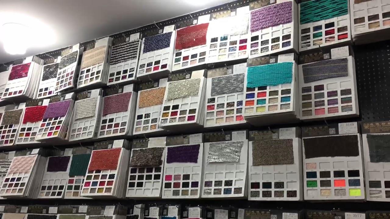 Китайский оптовый рынок ткани в Шаосин кэчао закупки ткани оптом .