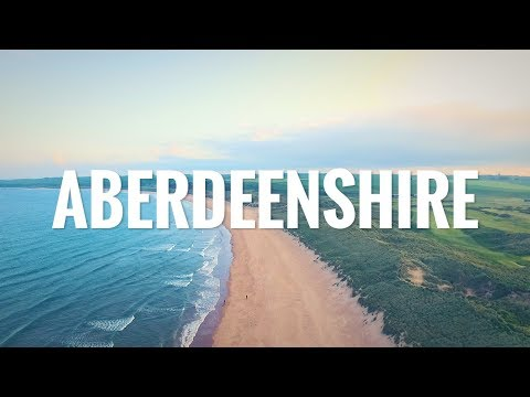 A weekend in Aberdeenshire (feat. stunning Drone shots)