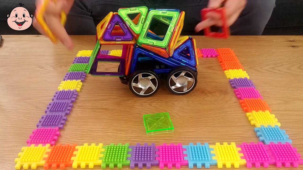 Magic Magnet Cool Car Magnet Toys For Kids