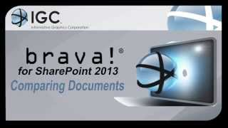 Compare Documents in Brava! for SharePoint 2013