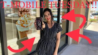 T-MOBILE TUESDAY! FREE NETFLIX, BURGER KING, PRIZES & So much more!! (T-Mobile service review)