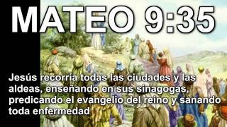 Mateo 9:35 Cristo Jesus en Biblia Parabola TV Jesus Cristo Mateo 9:35 HD Historia