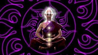 OM Chanting 963 Hz Music: 10'000Hz Whole Body Healing | Slow Trance Drums Soft Rain Meditation Music