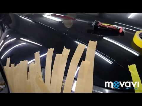 Как закрепить бампер если сломаны крепления