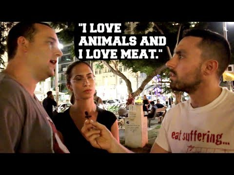 Vegan Takes On Israeli Public
